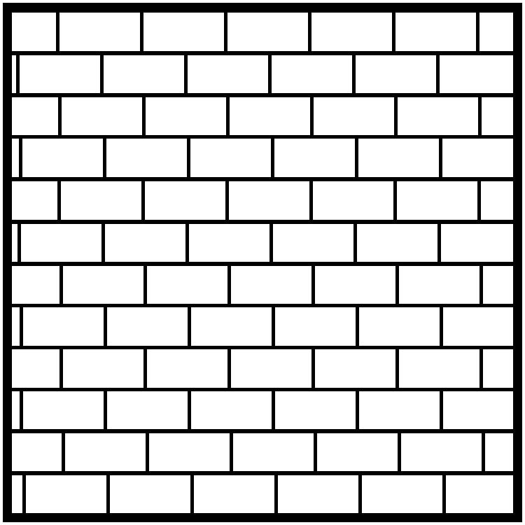 Horizontal Brick