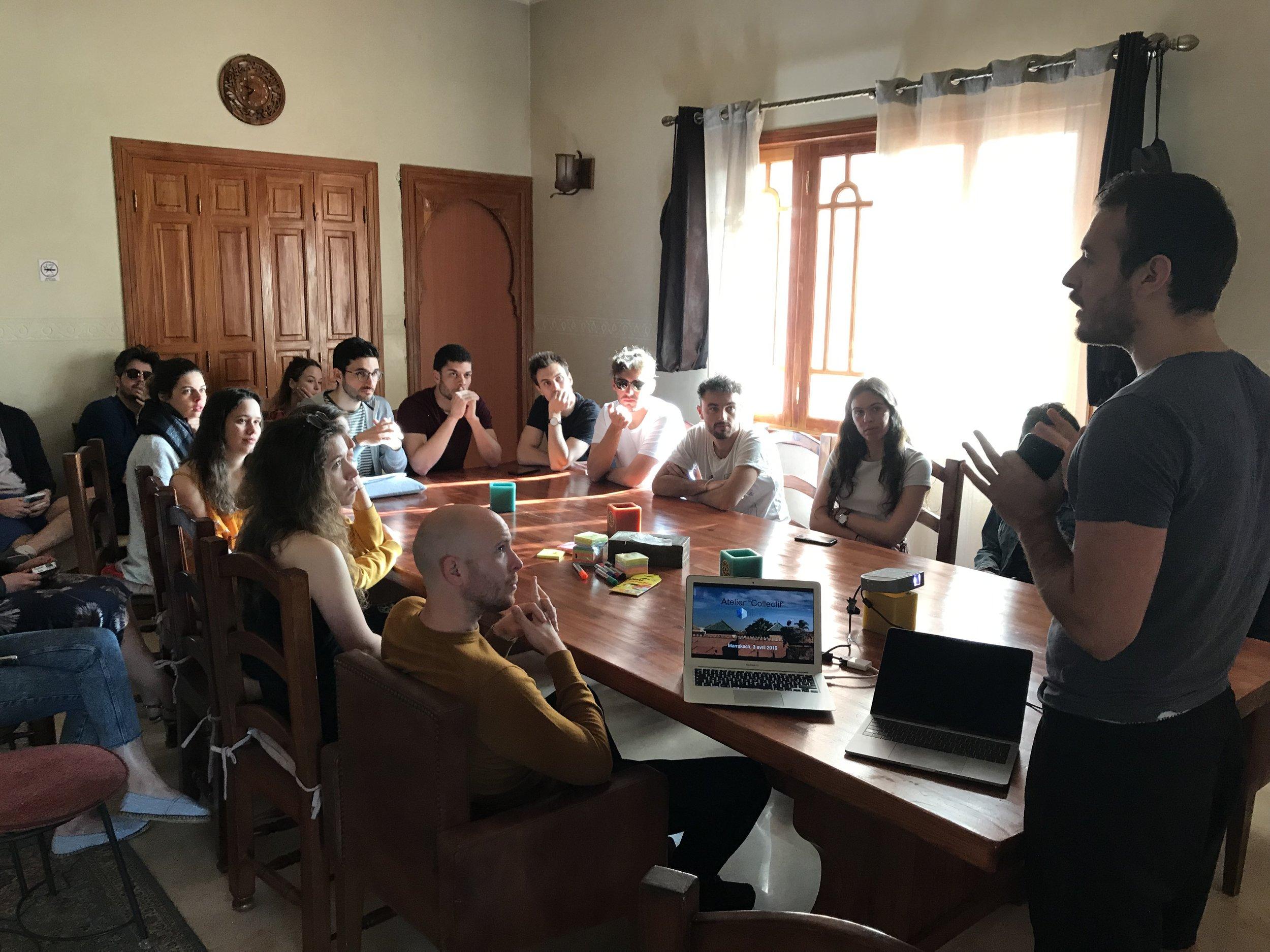 SK team workshop