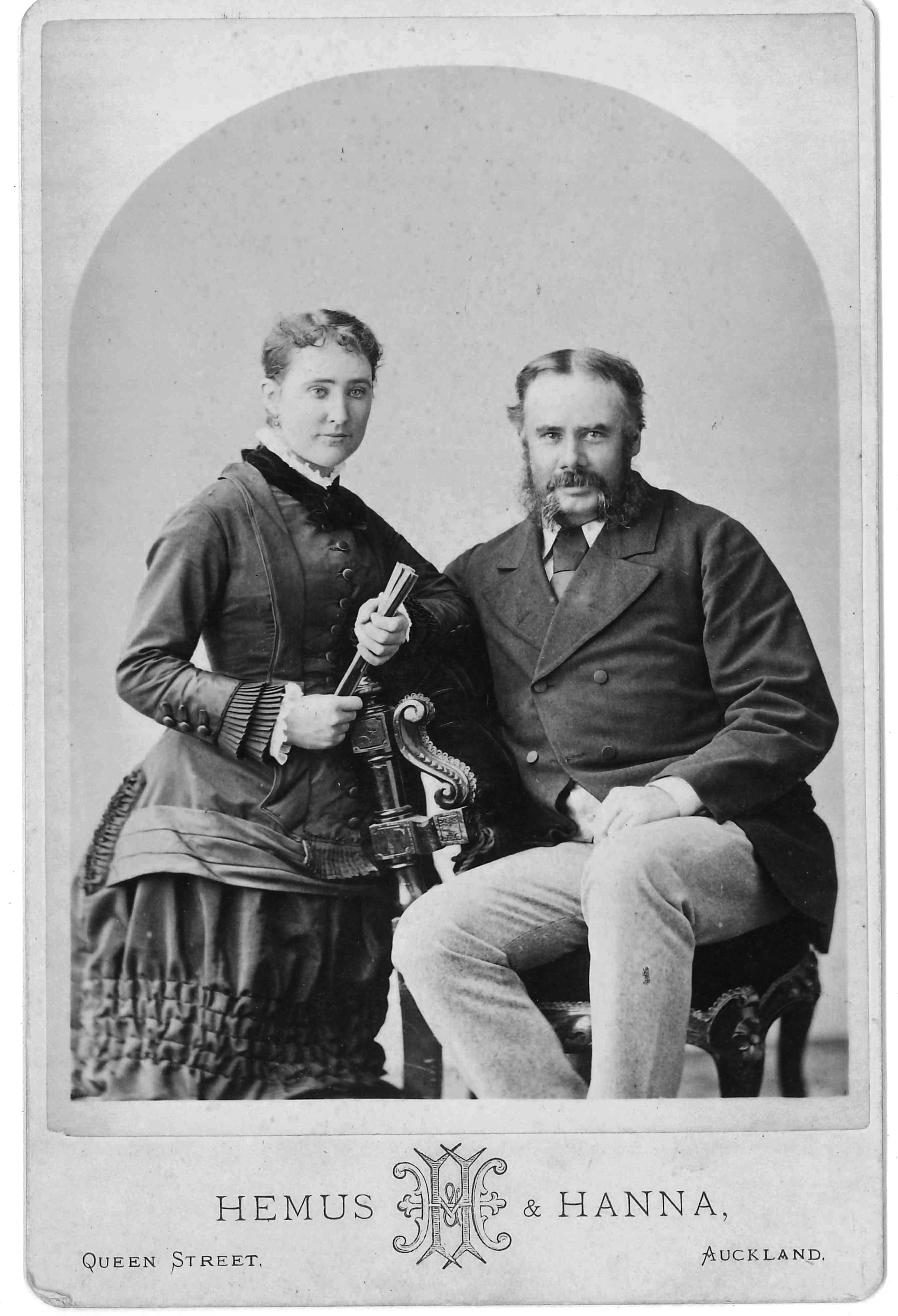 Allan Kerr Taylor and his wife Sophia Kerr Taylor
