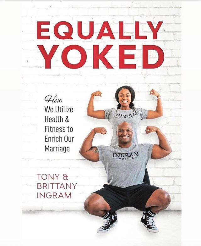 "THE TIME HAS FINALLY COME!! God's timing is always right. @ingrammuscle presents to you all our first co-authored book entitled ""Equally Yoked: How We Utilize Health & Fitness To Enrich Our Marriage."" We have been working diligently over the past year and a half to bring to you guys something special that is guaranteed to motivate, inspire and make you love one another like never before.  Equally Yoked speaks about how health and fitness has enriched our marriage in every area of our lives. Our goal is to inspire couples to live a healthy lifestyle mentally, physically, emotionally, and spiritually.  We are now accepting PRE-ORDERS until the official release date on June 11th.  Get your copy of the E-BOOK for $8.99 here        https://ingrammuscle.com/ebook-preorder/  Get your signed copy of the paperback for $19.99 here        https://ingrammuscle.com/preorder/ Those who order NOW will save with FREE shipping and handling!  LIKE US on Facebook: https://www.facebook.com/ingrammuscle/  #IngramMuscle #EquallyYoked #IngramLove #BlackLove #HealthAndFitness #10ToesDown"