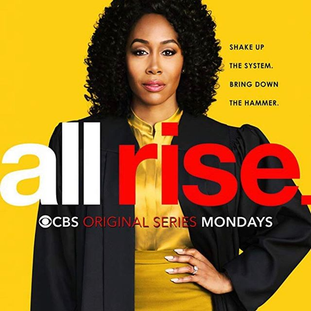 You've seen the hype on billboards, in train stations, on buses, and at several bus stops. Well, tonight is the night!!! The season premiere of #AllRise airs tonight on @cbstv at 9pm. I'm very proud of this awesome cast. Seeing them make magic on set is simply incredible.  Makeup: @brittanyingrambeauty  Hair: @allthingsvirtuous  #LolaCarmichael #SimoneMissick #BrittanyIngramBeauty #lamua