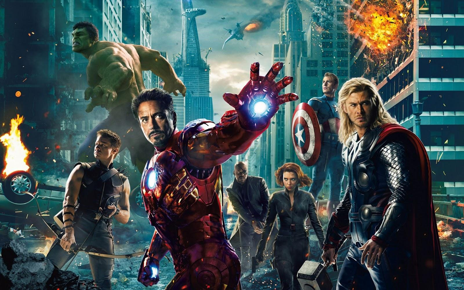 The Avengers. It's what we call ourselves. Sorta like a team. Earth's Mightiest Heroes type thing.