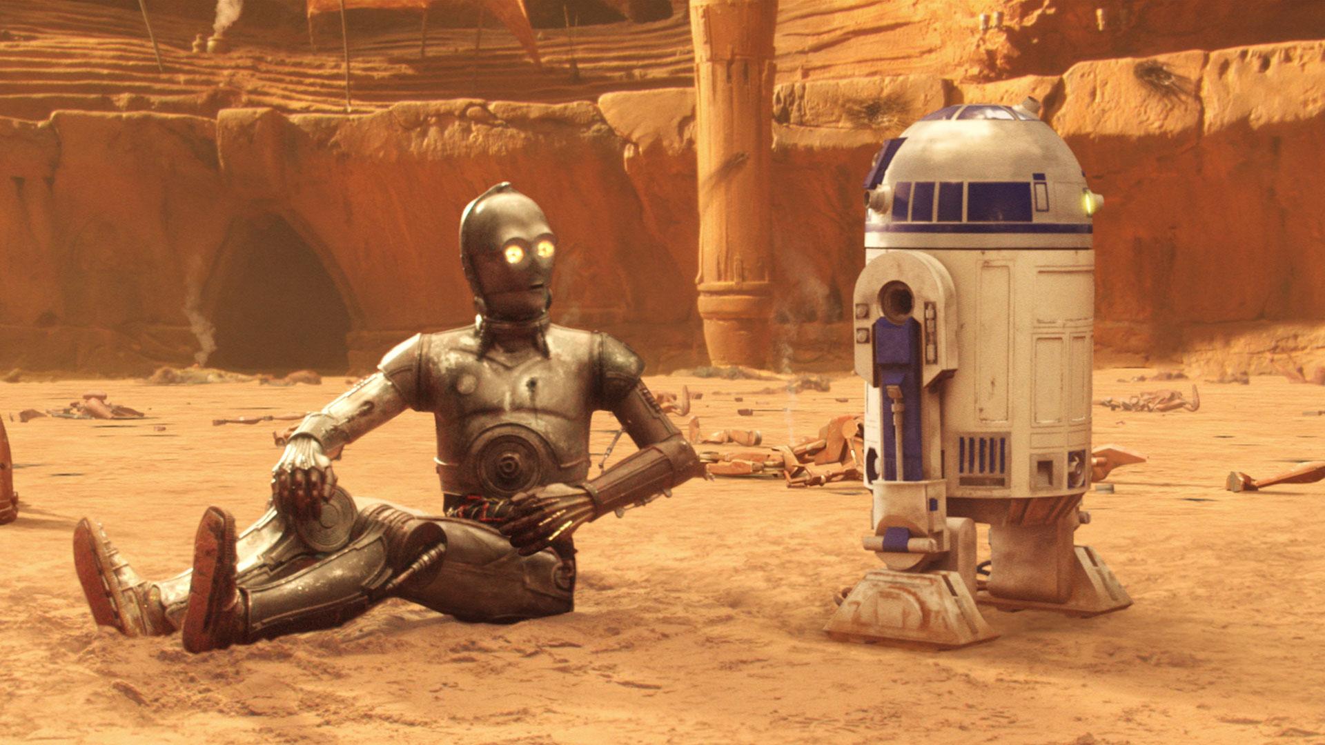 I'm beside myself, R2.