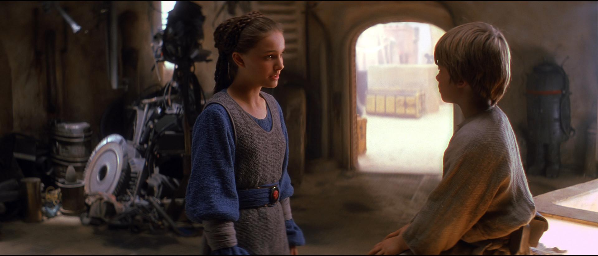 """""""Are you an angel?"""" - Anakin Skywalker to Padme Amidala"""