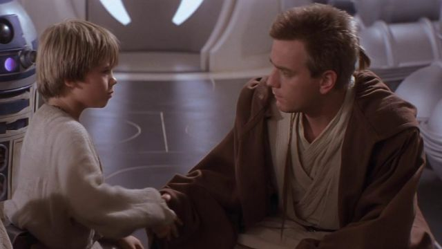 Anakin Skywalker meet Obi-Wan Kenobi