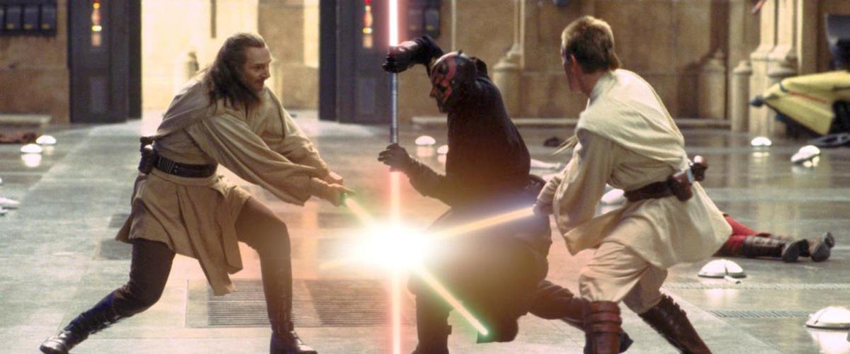 The Duel of the Fates - Obi-Wan and Qui-Gon vs Darth Maul