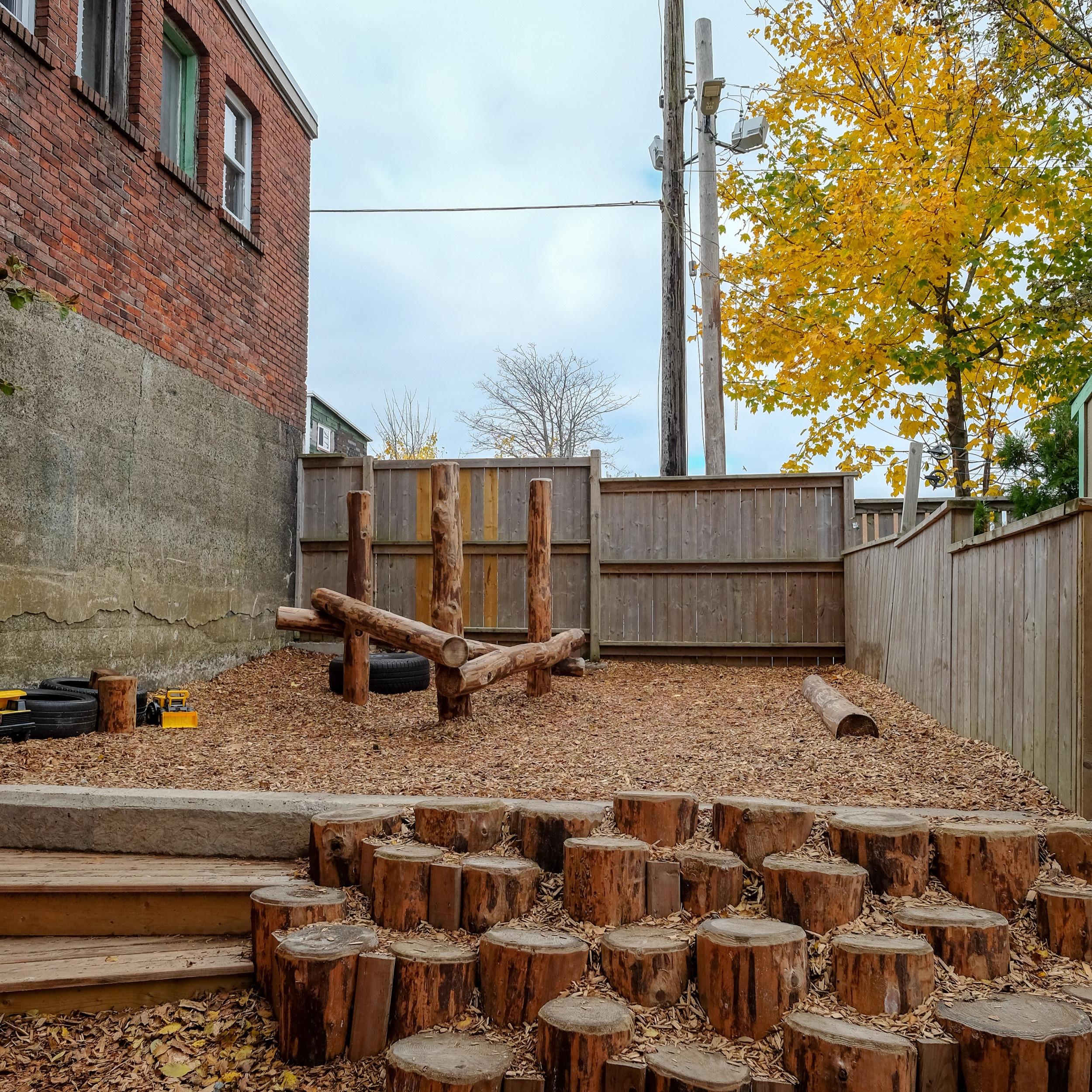 Tiny lab daycare natural playground