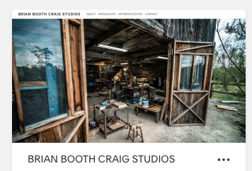 BrianBoothCraigStudios.com - Located in Northeast Pennsylvania, this is where most of Brian's personal work is created, where apprenticeships take place, and is one of the venues for his sculpture courses.