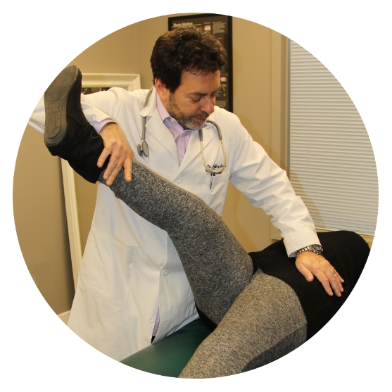 Functional Neurological Orthopedic Rehabilitation - procedures to restore normal hip and low back coordination and function to get you out of pain