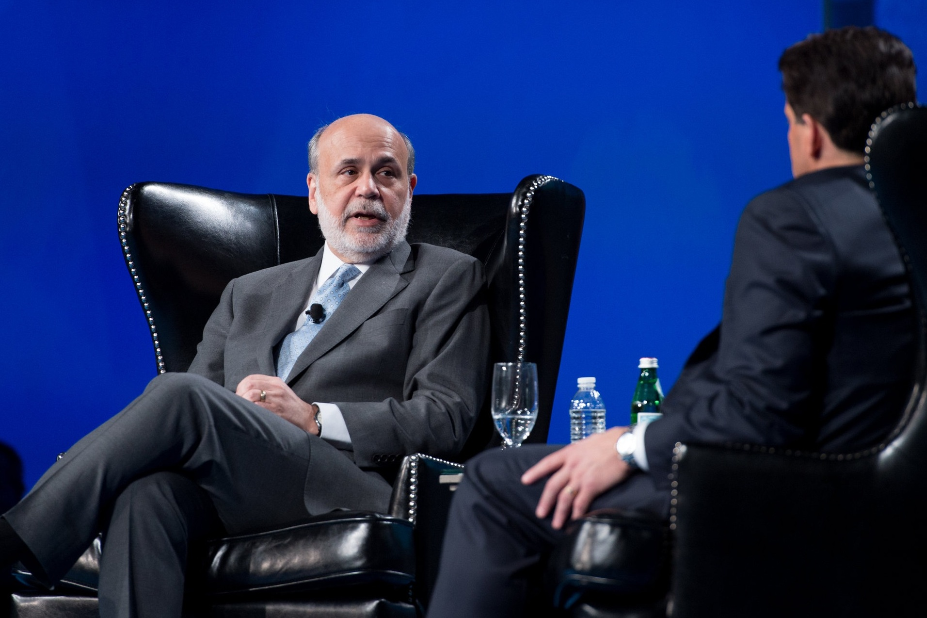 SALT 2015 - Chairman, Board of Governors of the Federal Reserve System (2006-2014) DR. BEN S. BERNANKE with SkyBridge Founder & Co-Managing Partner ANTHONY SCARAMUCCI