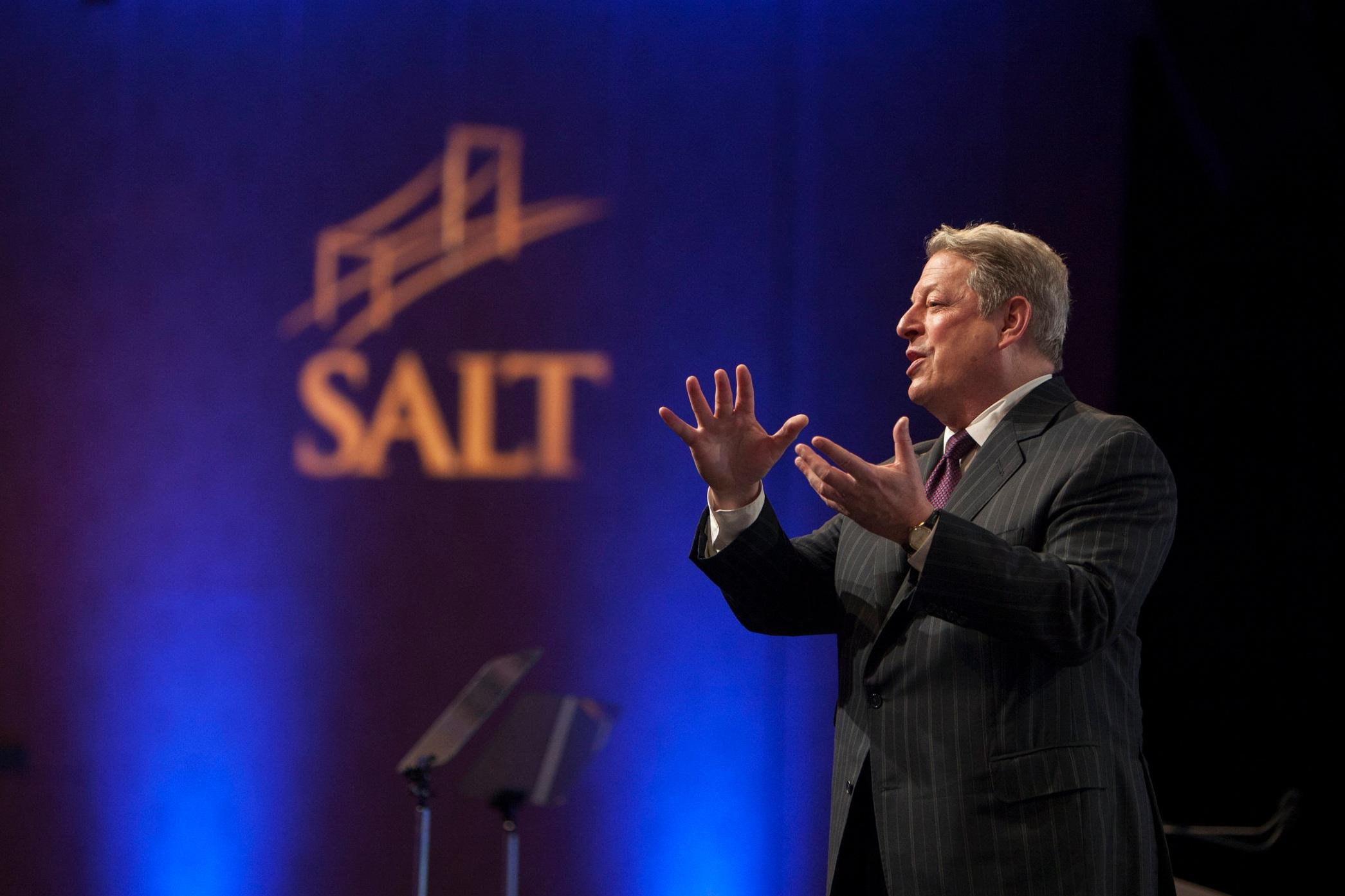 SALT 2012 - 45th Vice President of the United States & Nobel Laureate AL GORE