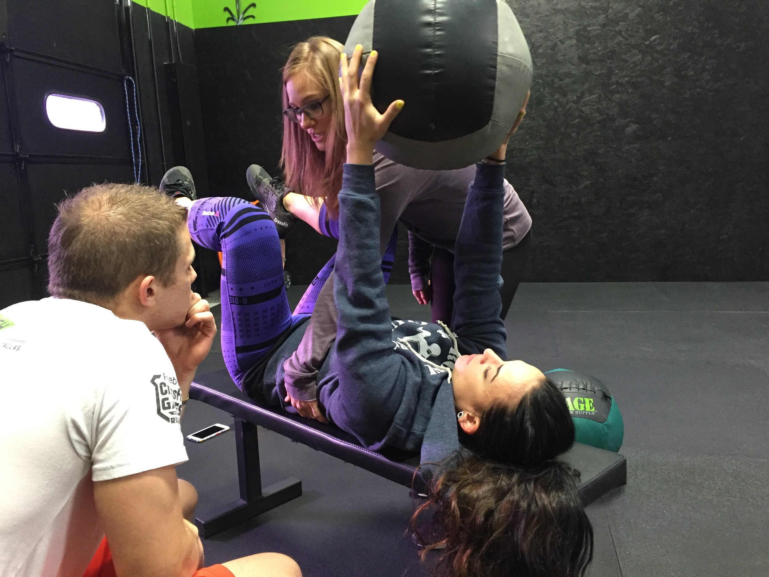 Teaching the basics of  Dynamic Neuromuscular Stabilization  - an approach that reestablishes ideal motor patterns from our developmental movement road map.