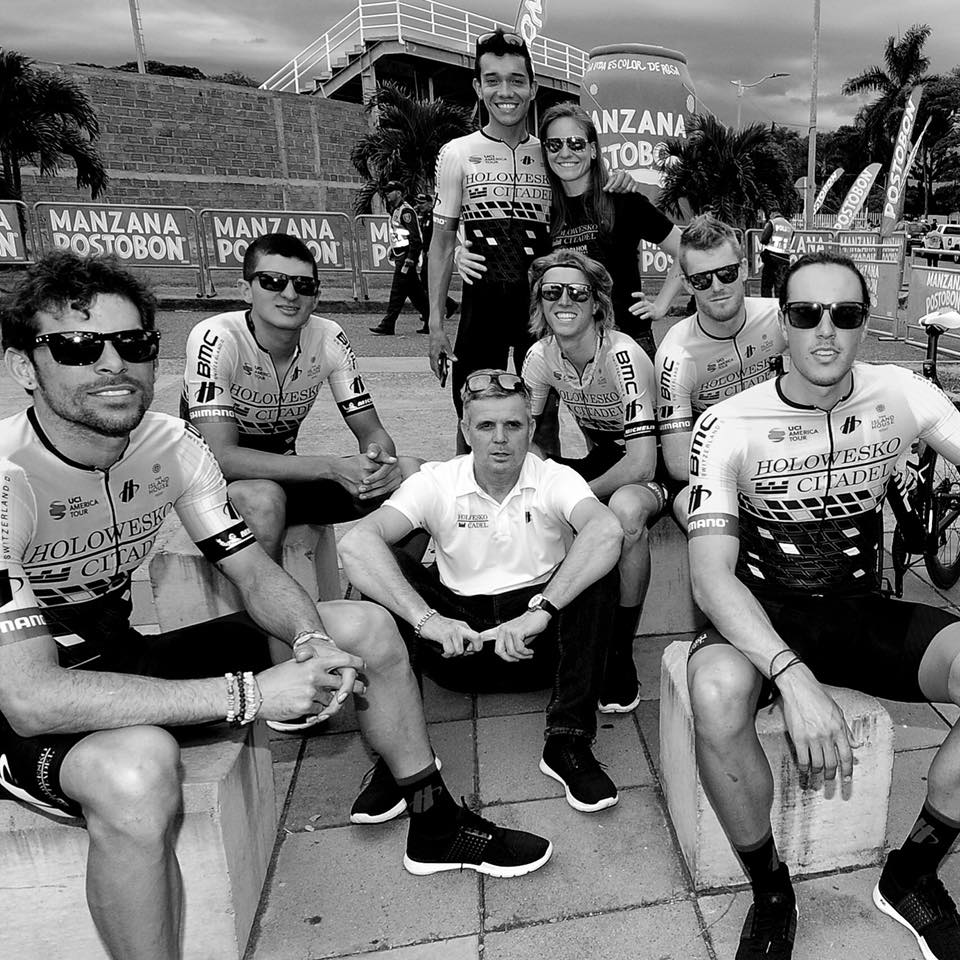 Colombia Oro y Paz Team Presentation - just looking a little boy-band-esque.