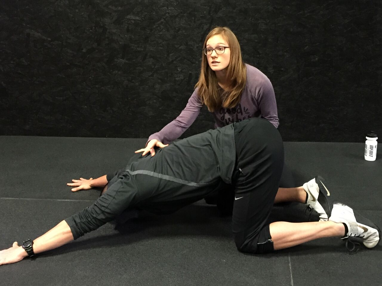 The ever-elusive T Spine extension. Great  Klapp crawling  exercise to get things moving the way you want.