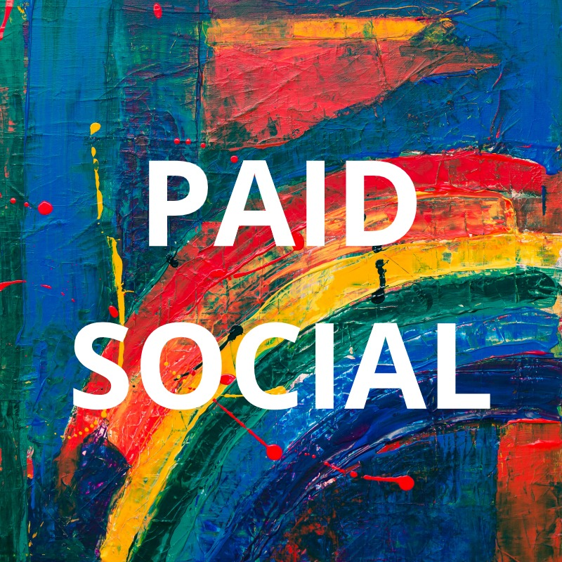 Paid Social    With so many platforms and all the updates it can be hard to keep up. We know them inside and out. Remind your audience you exist even when your aren't actively seeking you out.