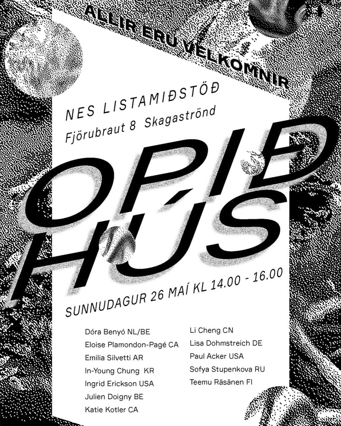 I've been living in Skagaströnd, Iceland throughout May as part of a residency with NES. We are having an Open Studio this coming Saturday, May 26h. I will be showing animations and some songs that I have made during my time here. Come on by if you're nearby!