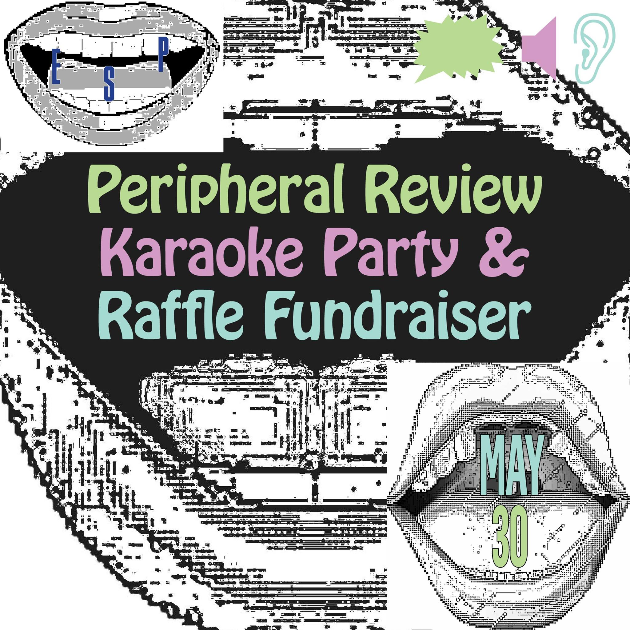 "I'm participating in Peripheral Review's Fundraiser on May 30th. Winners can win a print of ""21 Stills of Geranium"" and the first edition of ""Love Themes"" on cassette!"