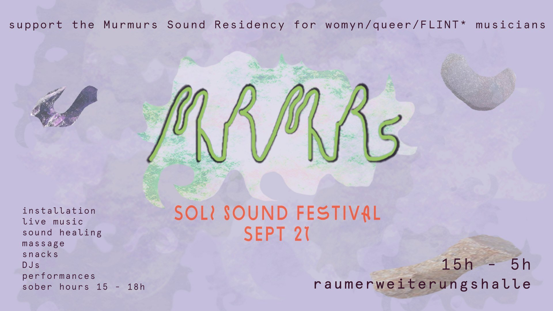 Providing visuals for this Berlin queer sound residency!