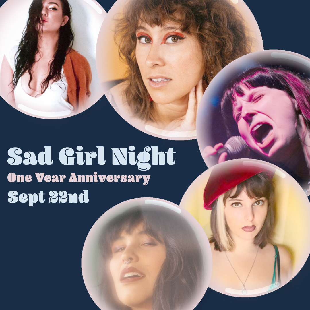 On Sept. 22nd, - we're featuring Catalina, Bee Taylor, Elisabeth Beckwitt, Laurel & The Love-In, and MOLLĒ
