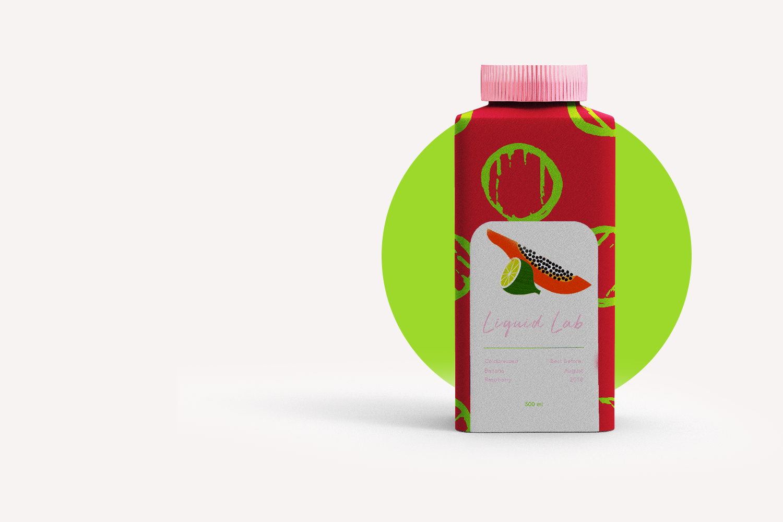 Liquid Lab juice; branding and web design - drink sweetheart - Eva B.