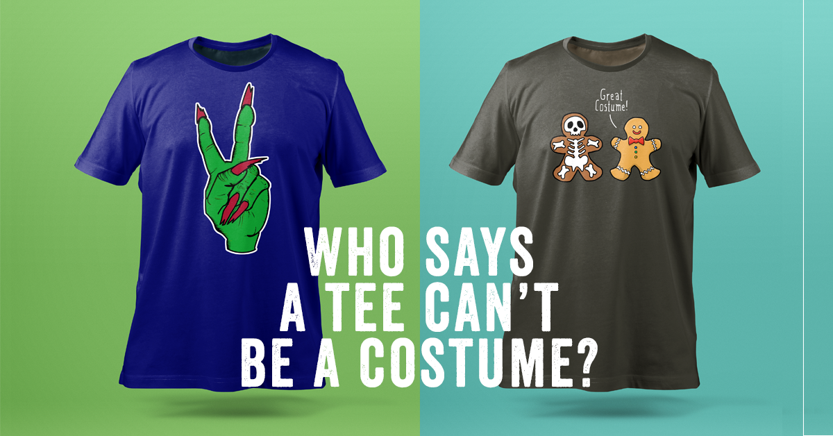 Tshirt designs for Halloween and facebook ad campaign - Eva B.