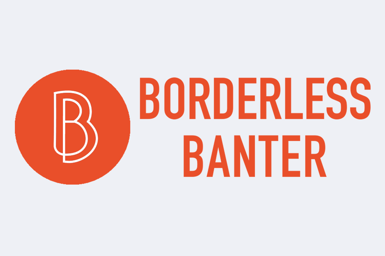 Borderless banter travel website, branding and design logo - Eva B.