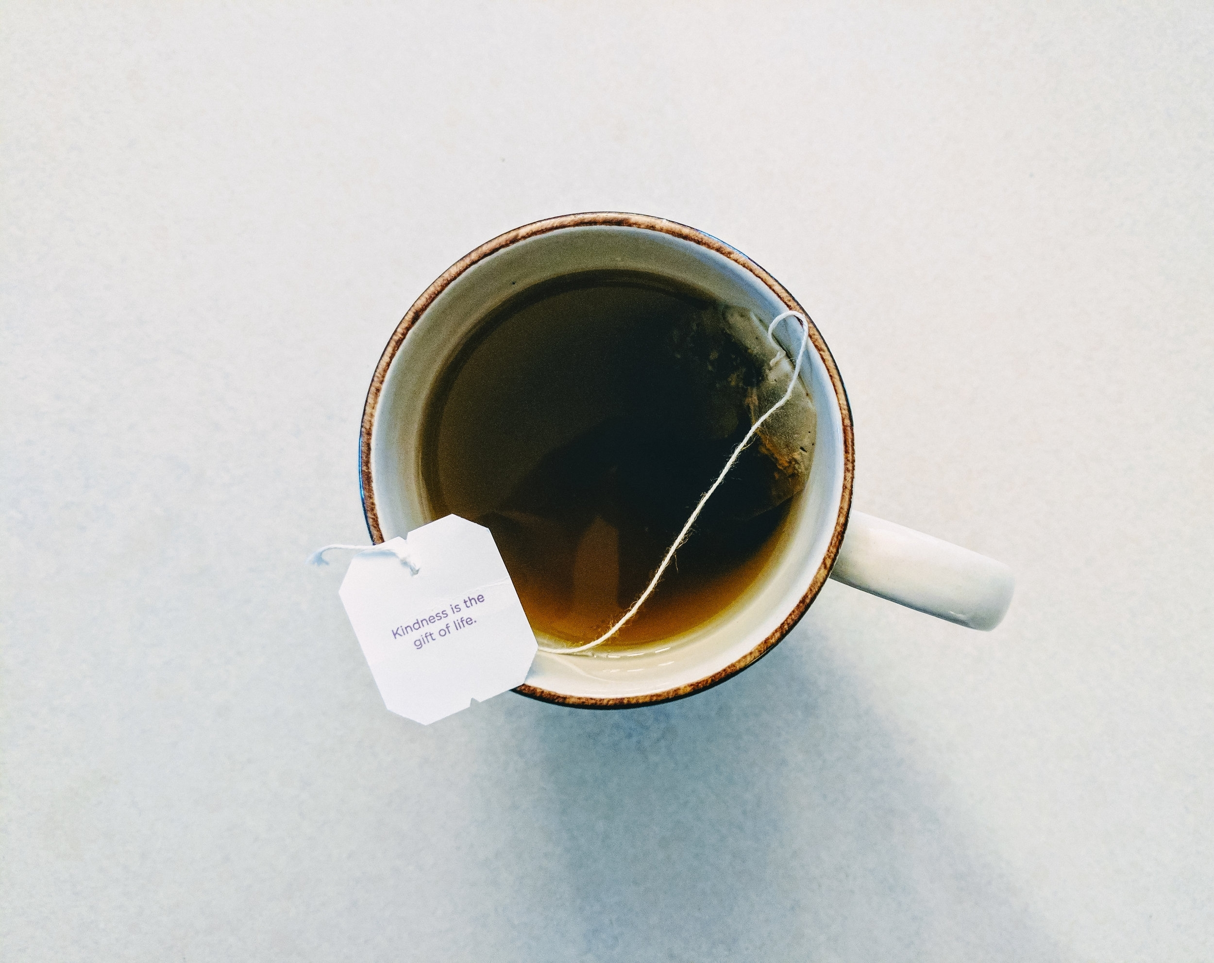 Let's chat! - and meet over a cup of tea