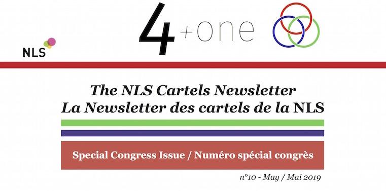 La Newsletter des Cartels - Le numéro spécial congrès est sorti ! Cliquez ici pour la lire.