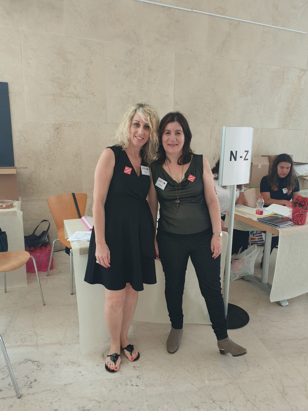 Miri Haber and Tammy Weil, Reception and Head of Reception and Catering