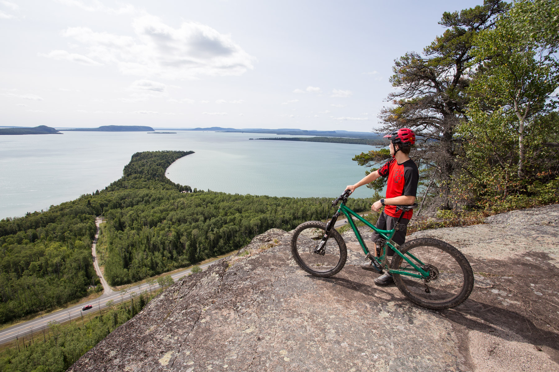 Looking for some kickass mountain bike trails? - Click on image to read at Northern Ontario Travel