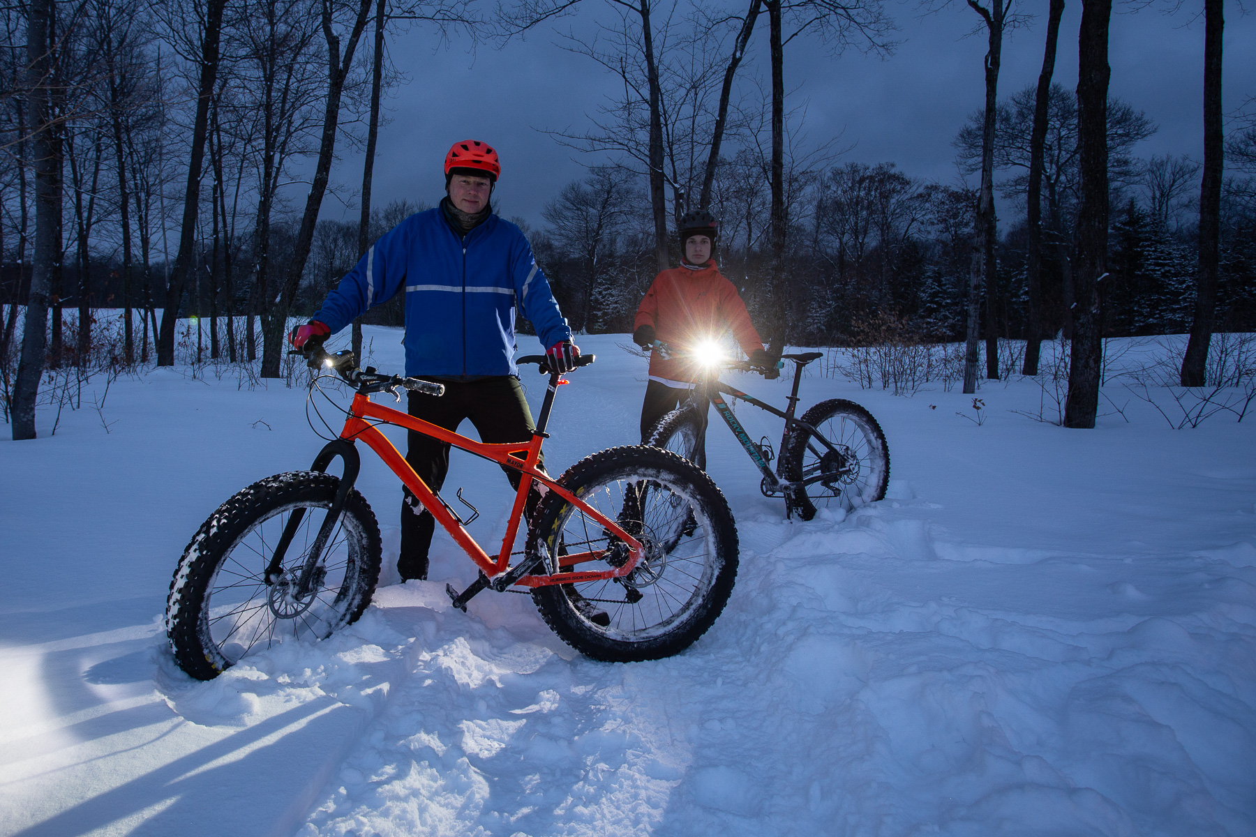 Fat Biking Sault Ste. Marie - Click on image to read at Northern Ontario Travel