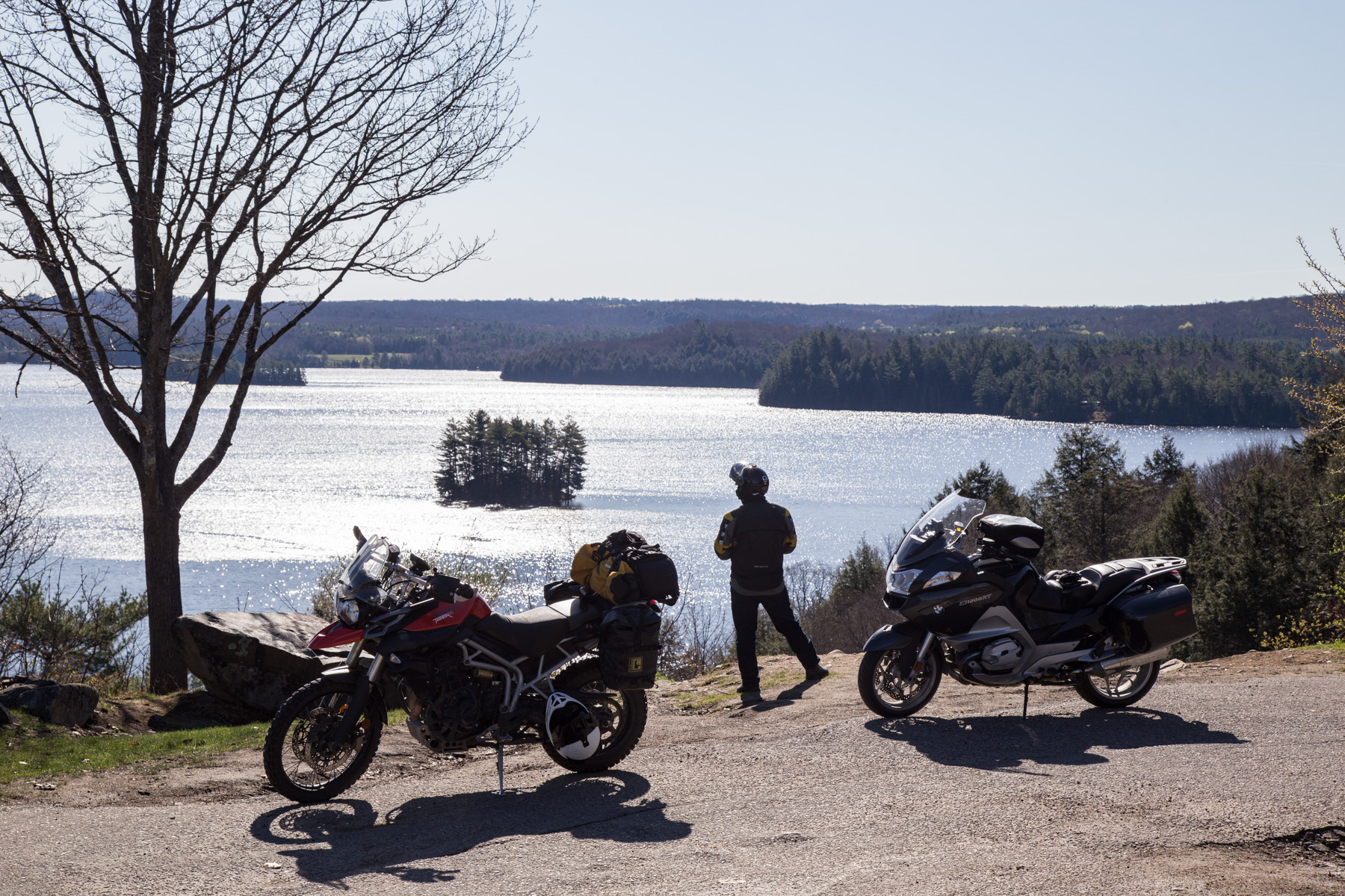 2018 Ride The Edge Check: The State of Motorcycle Touring Roads in Cottage Country - Click on image to read at Explorers' Edge