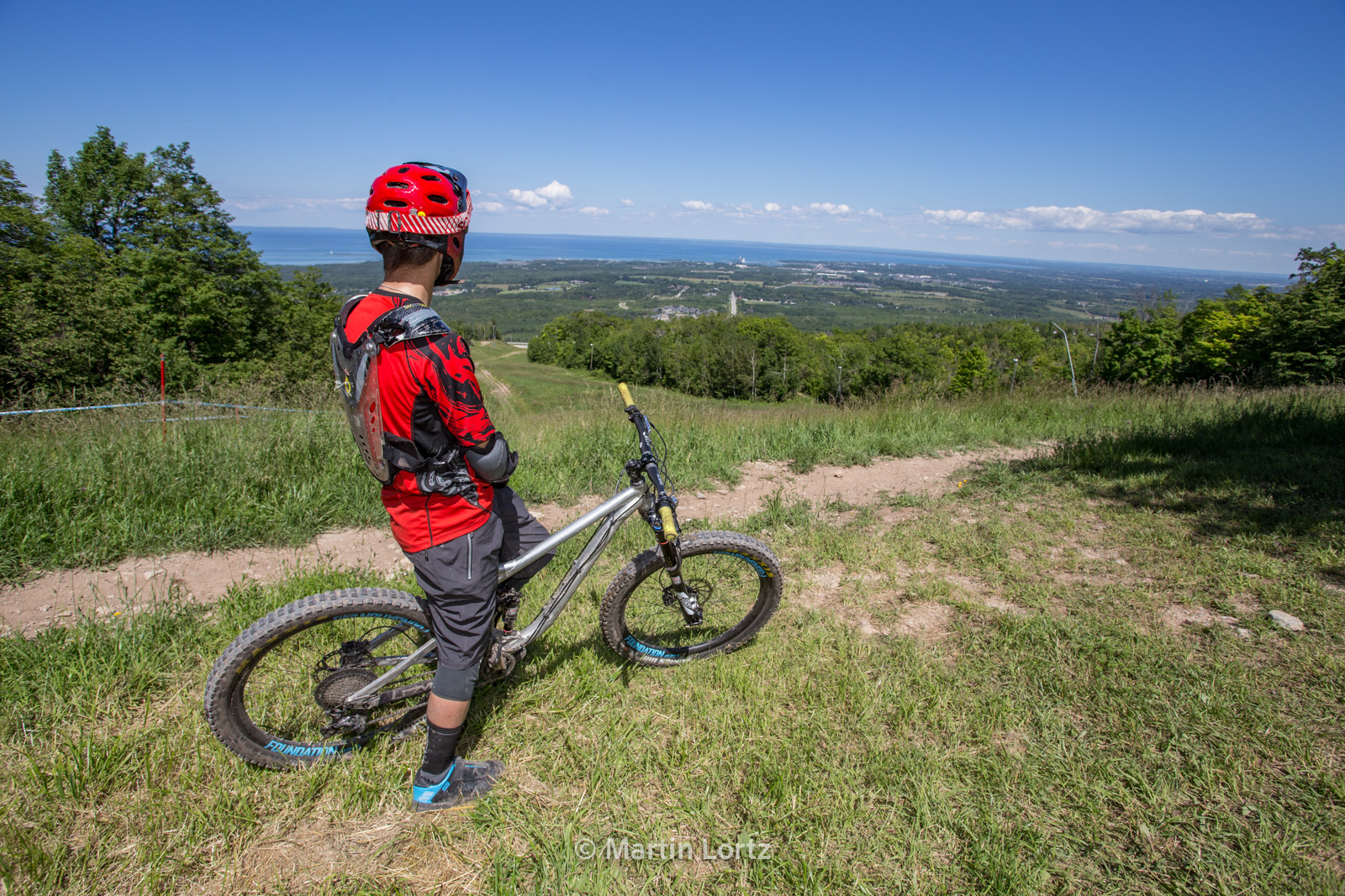 The Mountain Bike Tourist - Collingwood, Ontario - Click on image to read at Pinkbike