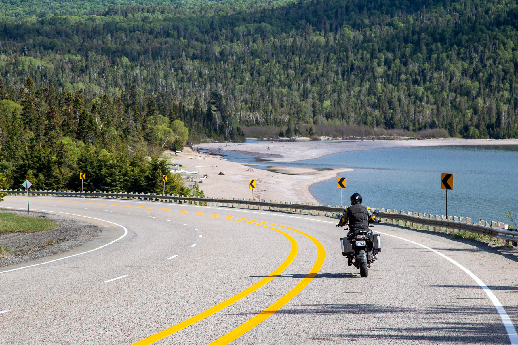 Upsizing the Grand Algoma—Part 2: Wawa and Beyond - Putting five days of freedom to good use checking out the Deer Trail and Algoma North Tours on our massive tour of Algoma Country motorcycle routes.