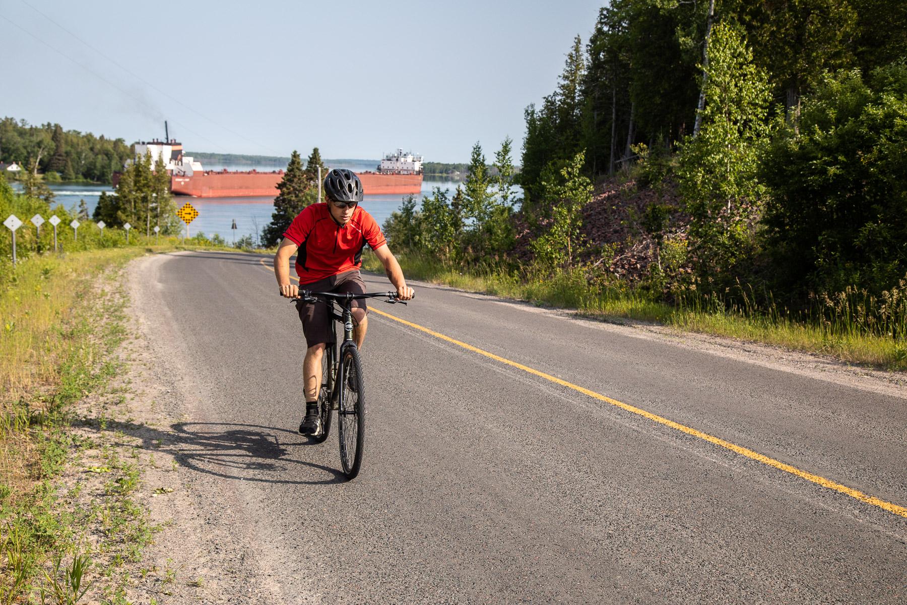 Island Cruising - CYCLING ALGOMA'S ST. JOSEPH ISLAND