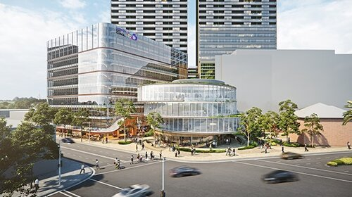Artist's impression of the new Civic Place in Liverpool.
