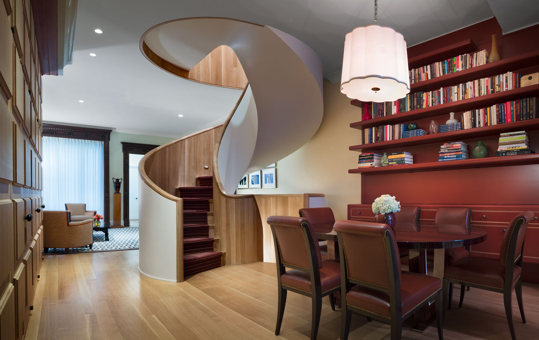 Townhouse Renovation - This was a gut renovation of a townhouse on which I worked with the architecture firm Ike Kligerman Barkley.