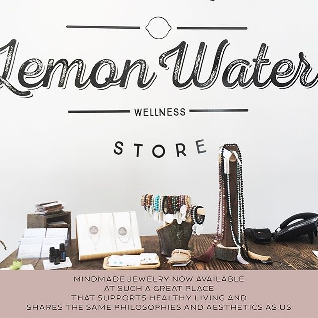 Find our Summer jewelry collection now at Lemon Water Wellness store at Distillery District, ‪9 Mill Street‬  Many thanks to Dr Selene Wilkinson and the manager Janelle for welcoming Mindmade! It truly means a lot to me to have your support in my business! . . . . #lemonwaterwellness #distillerydistrict #localbusiness #jewelry #photooftheday #beautiful #yogatoronto #torontolife #torontolifestyle #handmadeincanada #canadiandesigner #malajewelry #canada #wellness #wellnesstoronto
