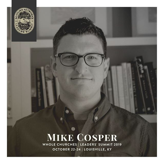We're thrilled that @mikedcosper is leading a Main Session and a Breakout this year at #WholeChurches. REGISTER TODAY: www.theleaderssummit.com⠀ ⠀ Mike serves as our Interim President, he's the author of several books, and is a mighty fine guitarist. He and his wife Sarah live in Louisville, Kentucky, with their daughters, Dorothy and Maggie.