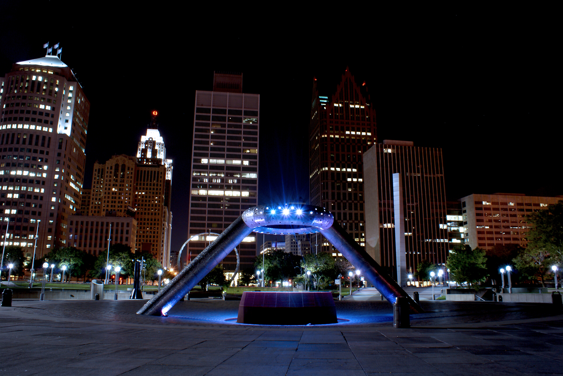 I spent many days and nights exploring Detroit while learning the skills of photography.