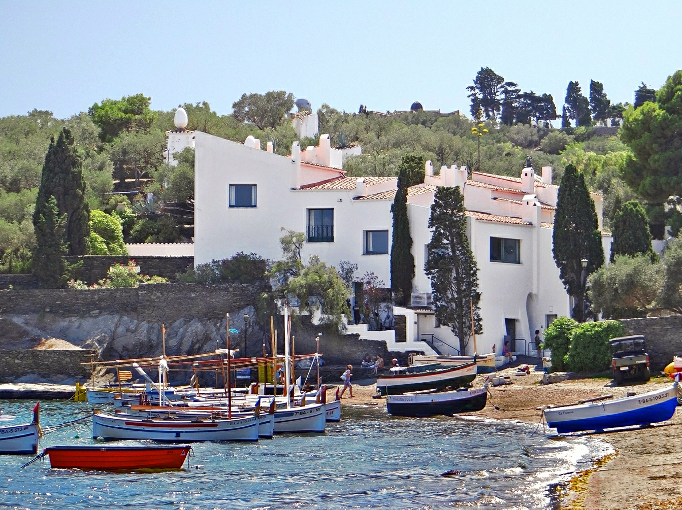 Portlligat, summer home of Salvador Dalí.