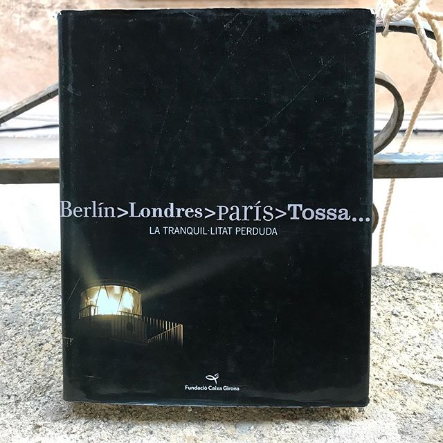 """Berlín Londres París Tossa"", a 2007 exhibition and catalog curated and written by Glòria Bosch and Suzanna Portell, a selection of pages focusing on Andre Masson and Georges Bataille's time in Tossa de Mar. #artistresidency"