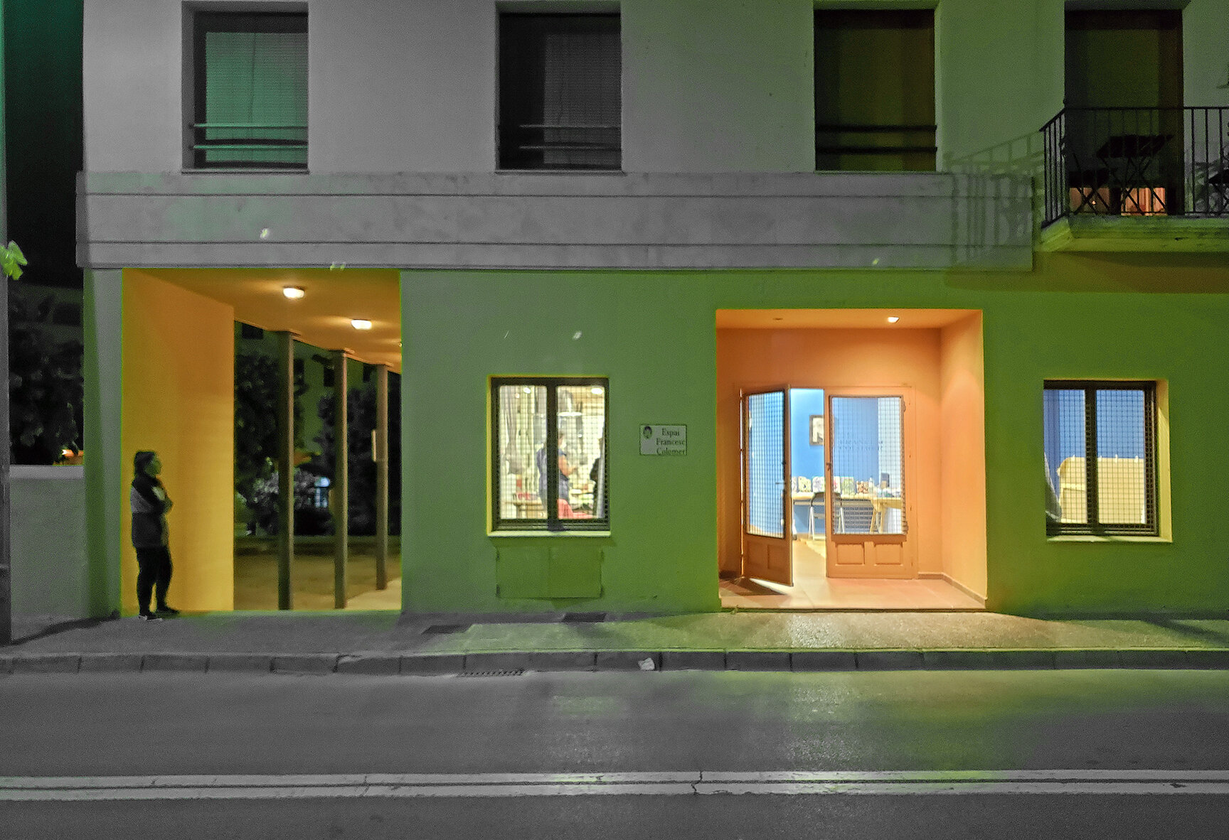 Espai Colomer;   the AIR. CAT residents' secure studio/work-space  in the center of Tossa de Mar. Access is 24/7.