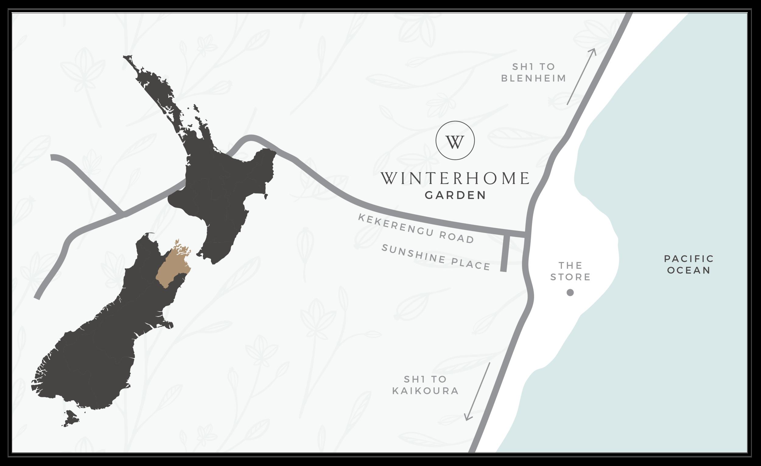 Map of Winterhome