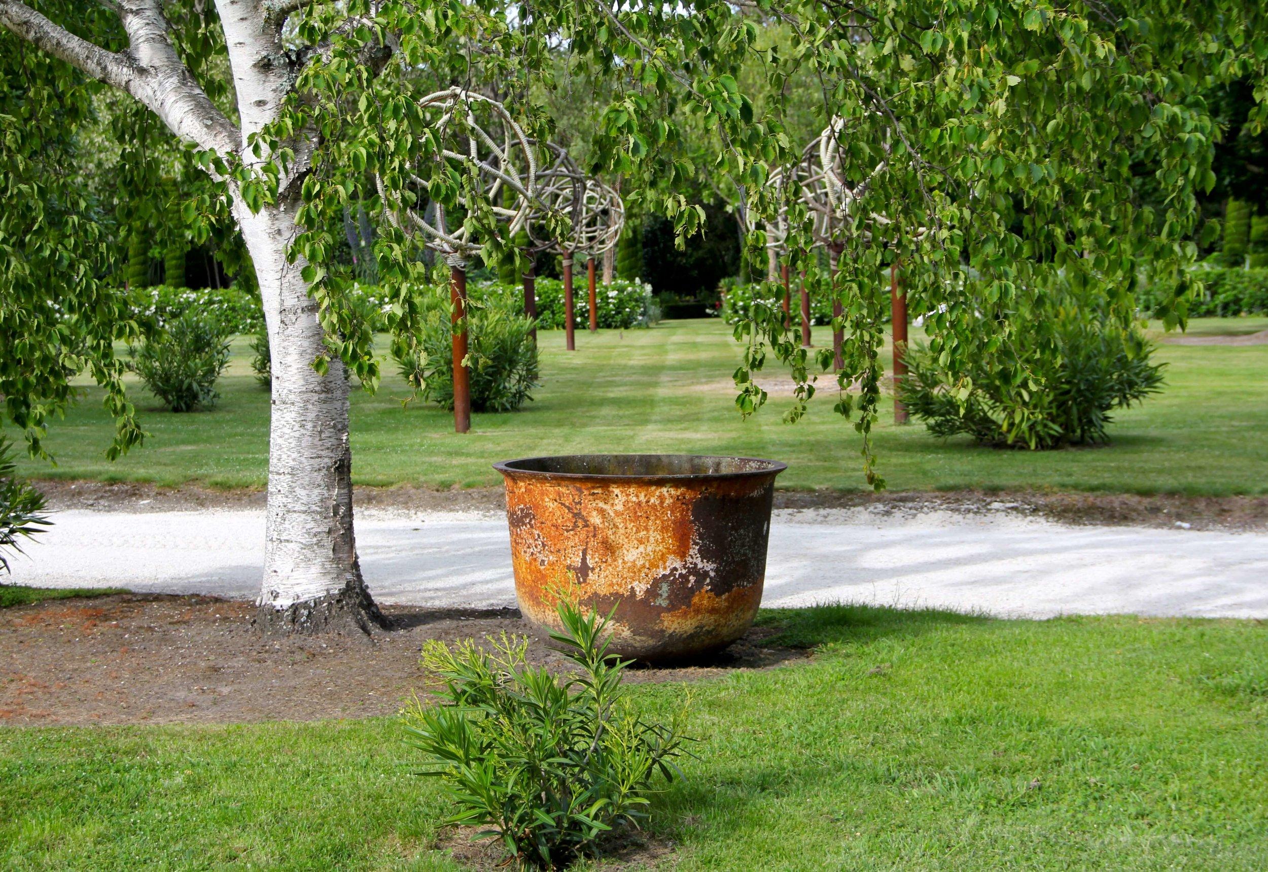 Winterhome Garden art
