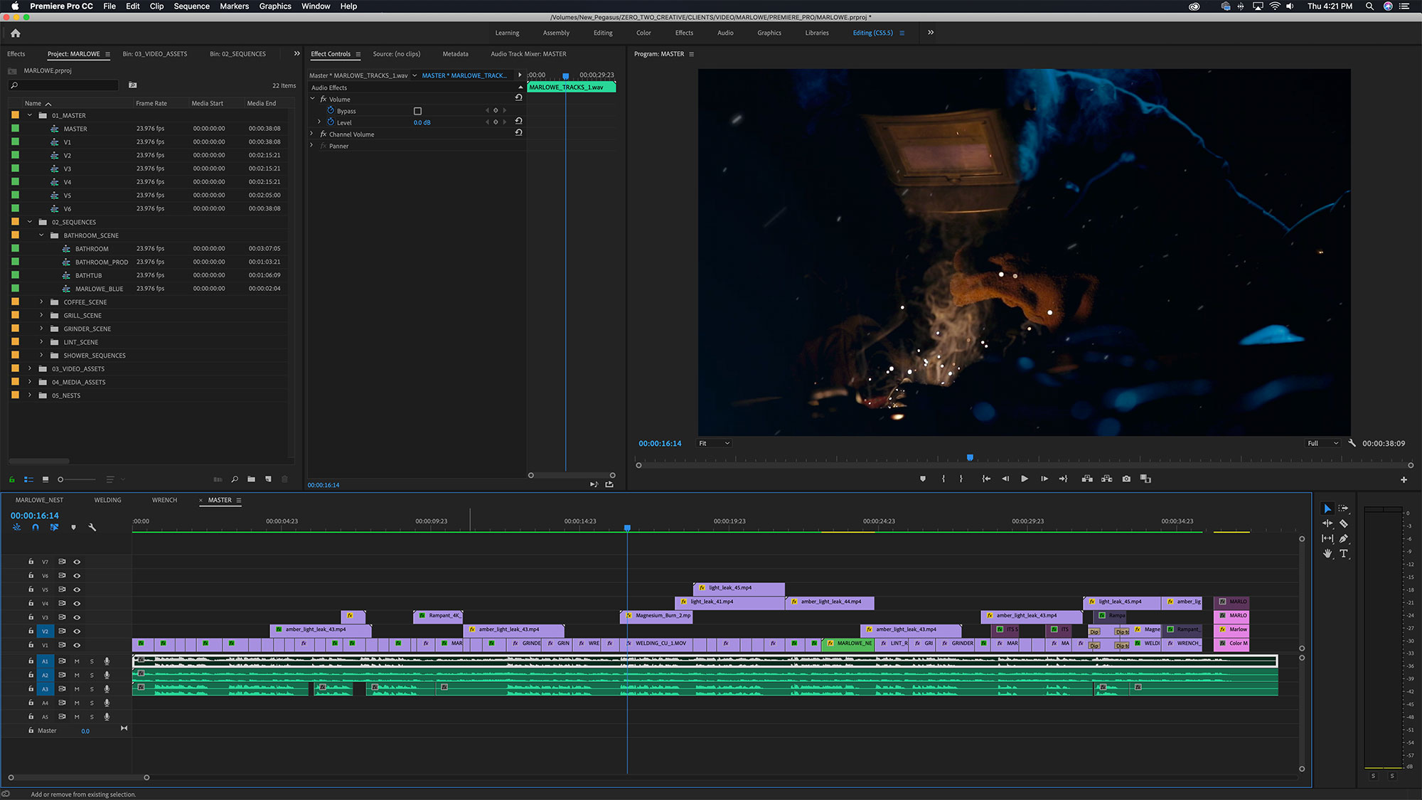 Zero Two post-production and editing for brand video marketing