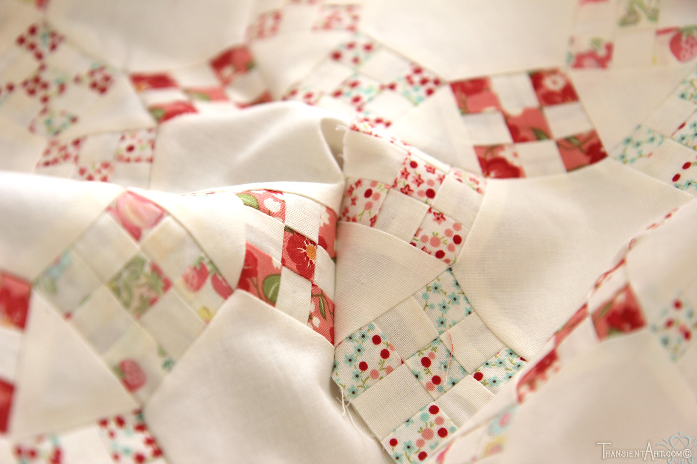 Nine Patch Quilt WM2