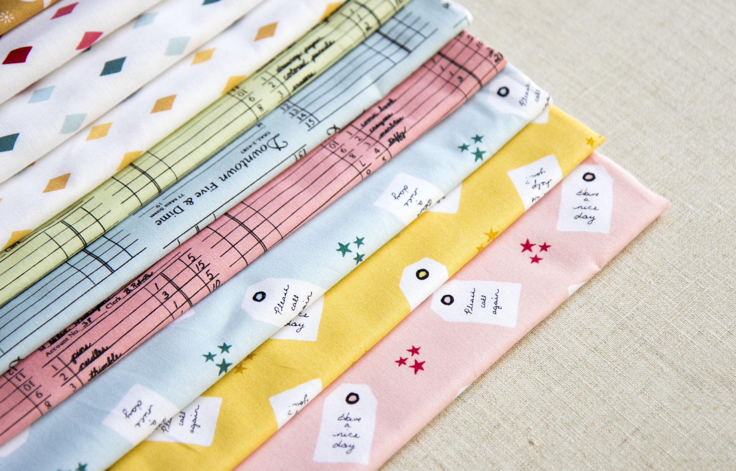Close up Five and Dime Fabric