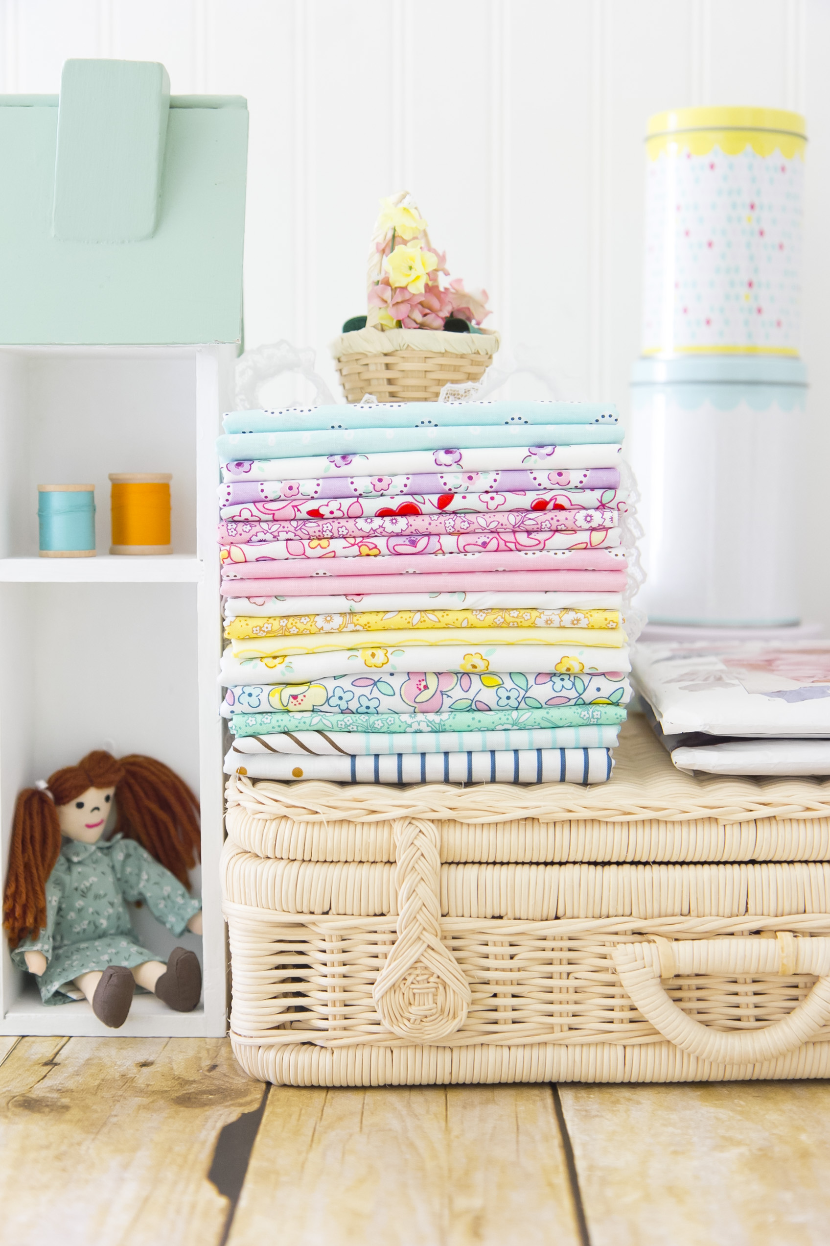 Little Dolly Fabric Stack