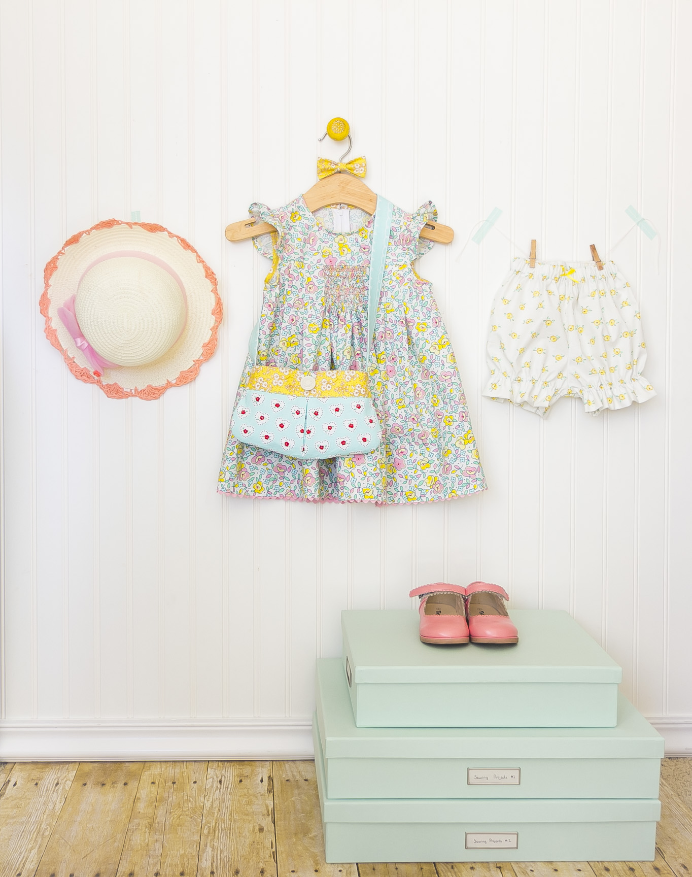 Little Dolly Fabric Dress